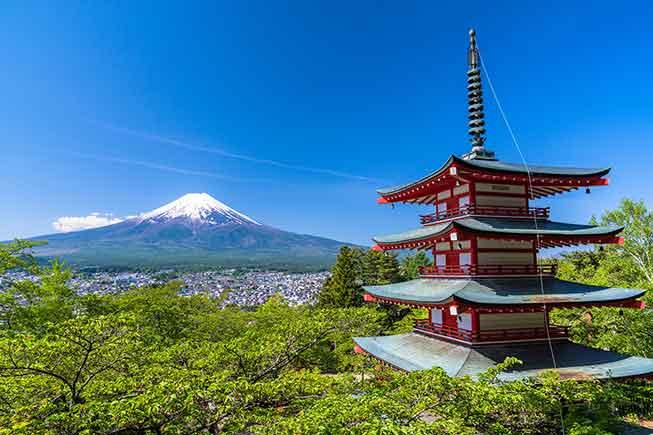 新倉山淺間公園必去景點