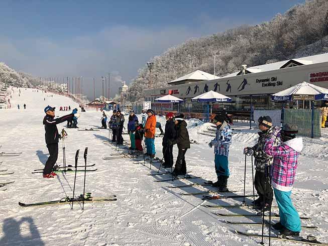 韓國滑雪場-Elysian江村滑雪場