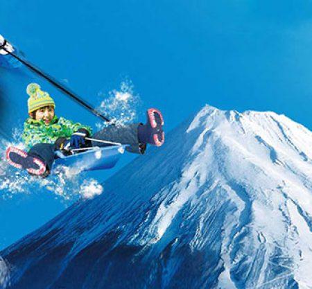 日本富士山滑雪一日遊行程