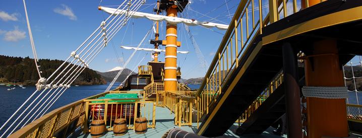 箱根海盜船必去景點