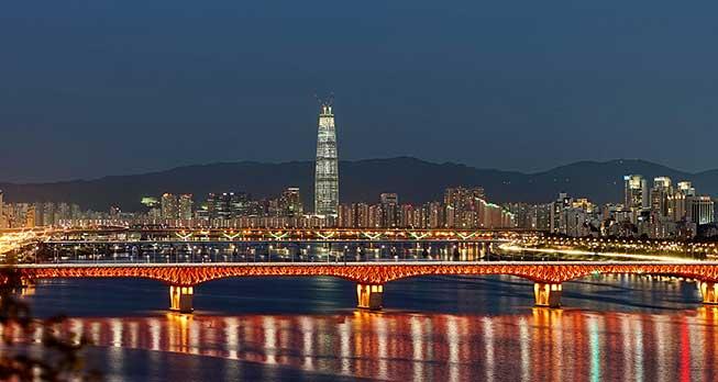 漢江夜景必去景點