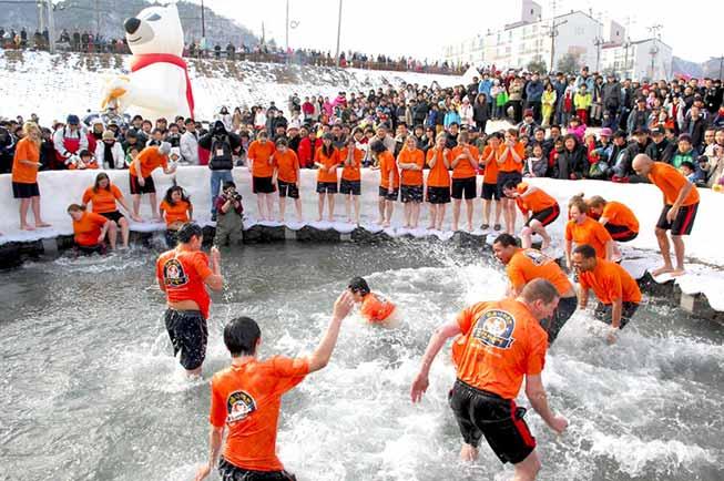 華川冰釣山鱒魚慶典必去景點