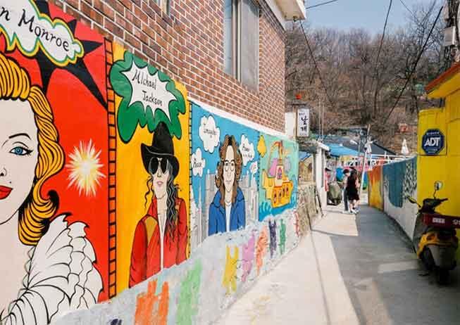 韓國滋滿壁畫村必去景點