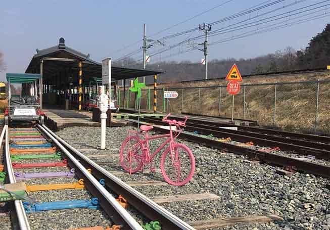 韓國全州鐵路單車必去景點