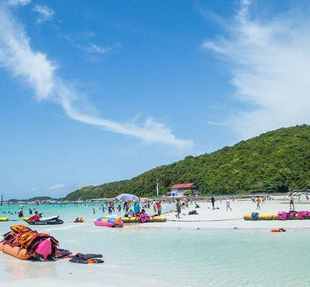 芭堤雅珊瑚島快艇浮潛一日遊行程