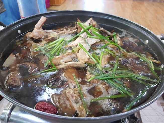 韓國養生走地雞煲必去景點