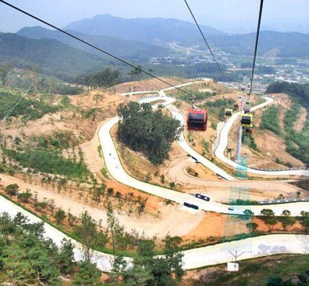 Luge斜坡滑車