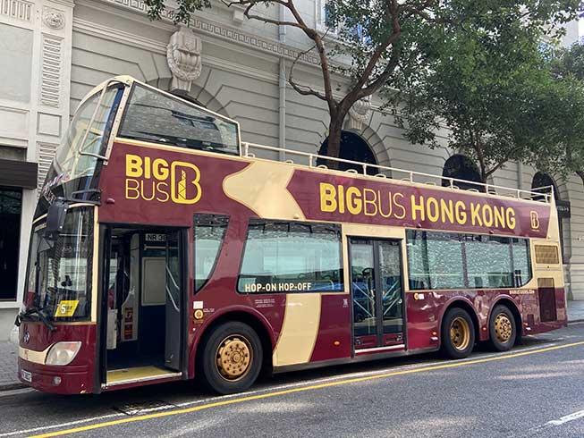 Open Top Bus開篷巴士香港一日遊