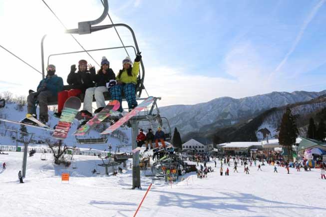 奧伊吹滑雪場必去景點