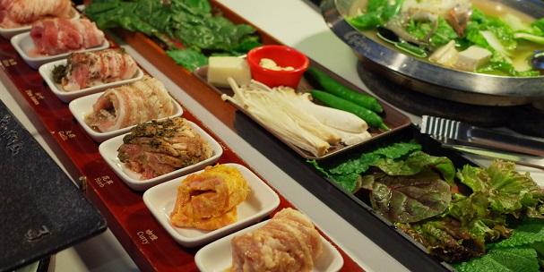 韓國正宗八色烤豬肉