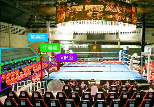 布吉Patong Boxing Stadium泰拳比賽