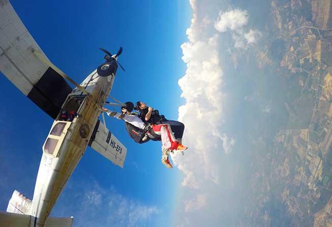 芭堤雅高空跳傘Sky Diving體驗必去景點