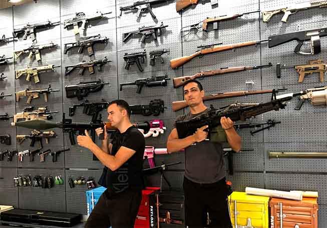 布吉Gold Shooter室內實彈射擊體驗必去景點
