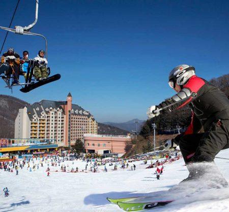 陽智Pine渡假村滑雪場一日遊行程