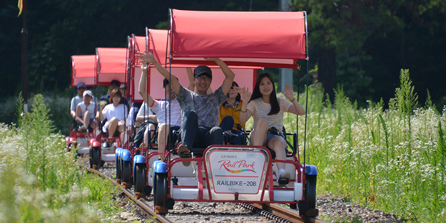 江村Rail Bike