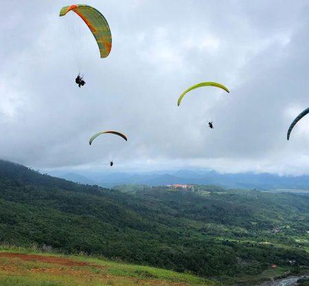 沙巴滑翔傘一日遊行程