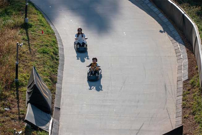 江華島Luge斜坡滑車必去景點