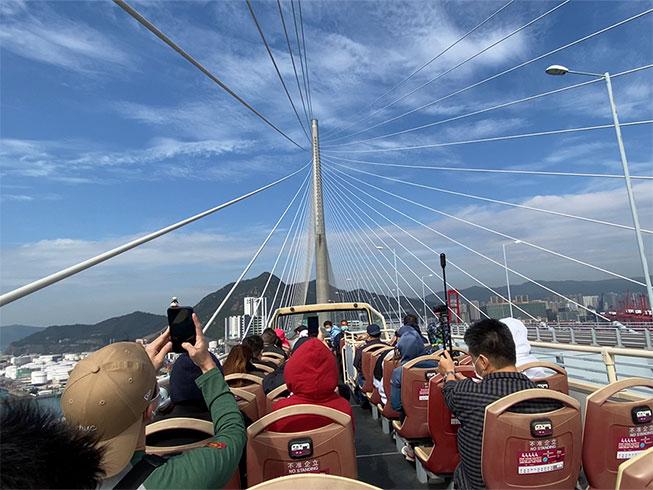 昂船洲大橋一日遊行程