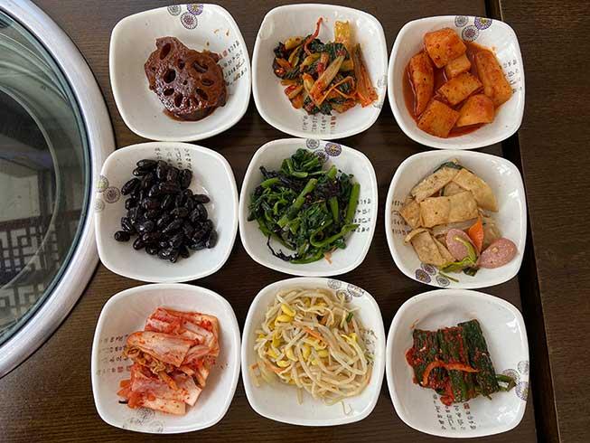 韓國餐廳午餐