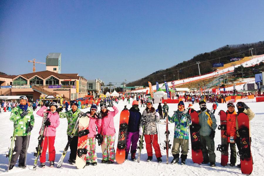 洪川大明滑雪教學