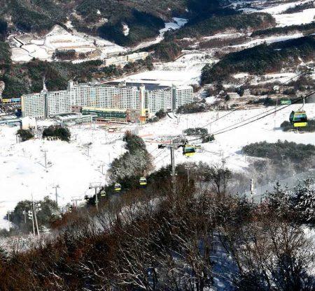 Welli Hilli Park滑雪渡假村韓國滑雪一天遊行程