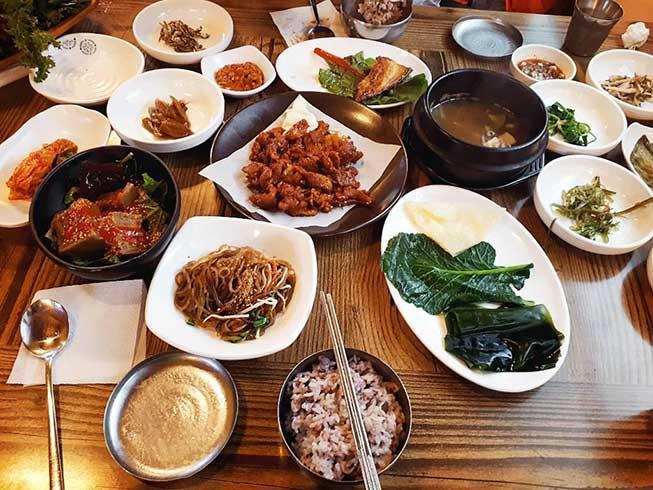 傳統料理韓式定食