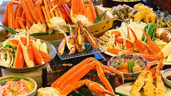 任食蟹腳放題午餐