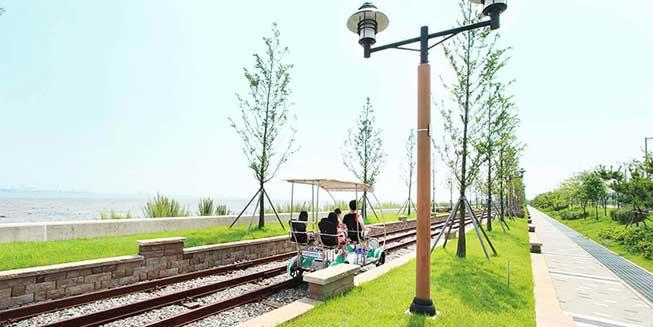 永宗島海邊鐵路單車必去景點